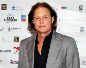 FILE - In this Sept. 11, 2013 file photo, former Olympic athlete Bruce Jenner arrives at the Annual Charity Day hosted by Cantor Fitzgerald and BGC Partners, in New York. ABC says the former Olympic champion and patriarch of the Kardashian television clan will give a two-hour interview to Diane Sawyer airing on Friday, April 24. (Photo by Mark Von Holden/Invision/AP, File)