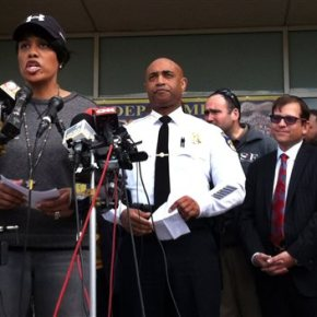 Baltimore on edge: National Guardsmen take uppositions