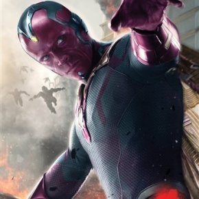 A new Vision Paul Bettany in 'Avengers'