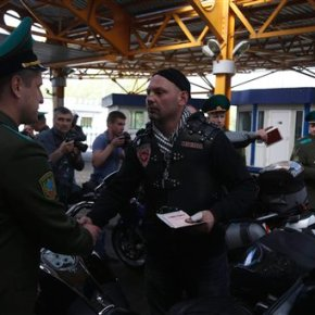 Polish border guards refuse entry for 10 Russianbikers
