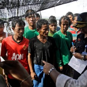 Indonesian government says to move enslaved fishermen