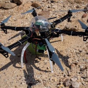 At Jordan site, drone offers glimpse of antiquitieslooting