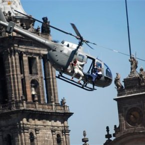 Mexico City: 007 film 'Spectre' good for business in capital