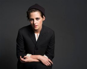 With a wink to 'Twilight,' Kristen Stewart speeds forward