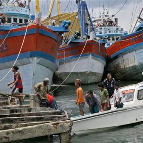 Hundreds of fishermen rescued amid Indonesian slavery probe