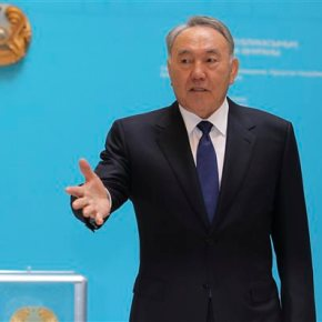 Kazakhstan goes to polls as president expected to win