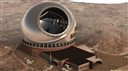 This 2011 file artist rendering provided by Thirty Meter Telescope, shows the Thirty Meter Telescope. Hawaii Gov. David Ige said Tuesday, April 7, 2015, that the Thirty Meter Telescope is stopping construction at Mauna Kea for a week. (AP Photo/Thirty Meter Telescope)