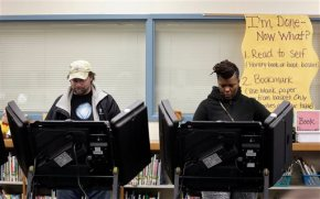 Ferguson voters head to polls to reshape City Council