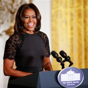 First lady: Gospel 'fuels my love' of music ingeneral