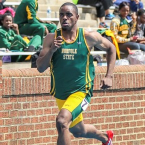 Coles Rips off PR in 200m Victory at Hampton Relays