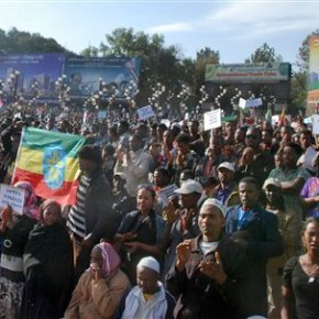 Thousands of Ethiopians march against Islamic extremism