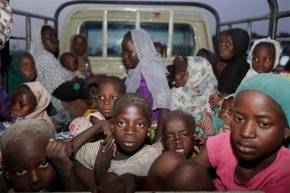 Hundreds saved from Boko Haram now in military custody