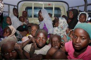 Hundreds saved from Boko Haram now in militarycustody
