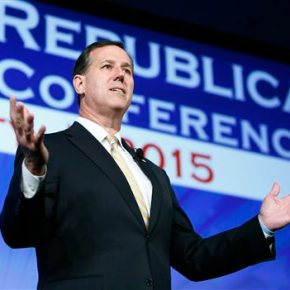 Rick Santorum announces second White Houserun