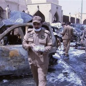 IS claims suicide bombing on Shiite mosque in Saudi, 4dead