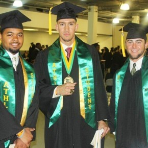 31 Spartan Student-Athletes earn degrees at Spring Commencement