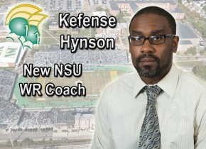NSU Football hires Kefense Hynson as new Wide Receivers Coach