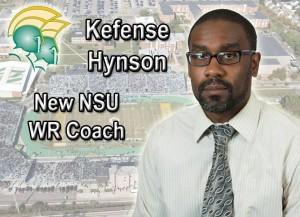 New NSU WR Coach Kefense Hynson