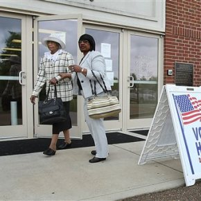 Mixed turnout for US House runoff in Mississippi