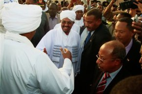 Sudan's al-Bashir returns home from South Africa