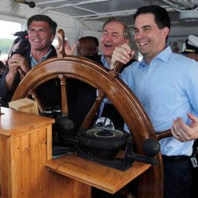 Walker's travels as 2016 hopeful raise eyebrows at home