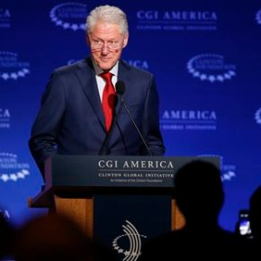 Bill Clinton defends family foundation