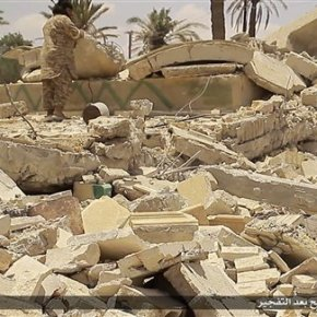 Islamic State group blows up 2 mausoleums in Syria'sPalmyra