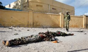 Somalia soldier, 4 militants killed in training site attack