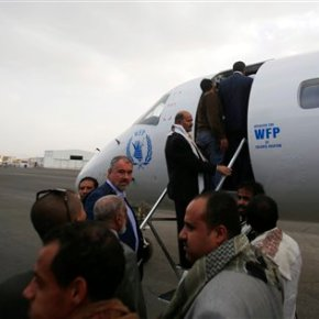 Yemen rebel delegation leaves for Geneva talks