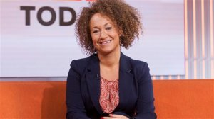 """In this image released by NBC News, former NAACP leader Rachel Dolezal appears on the """"Today"""" show set on Tuesday, June 16, 2015, in New York. Dolezal was born to two parents who say they are white, but she chooses instead to self-identify as black. Her ability to think she has a choice shows a new fluidity in race in a diversifying America, a place where the rigid racial structures that defined most of this country's history seems, for some, to be falling to the wayside. (Anthony Quintano/NBC News via AP)"""