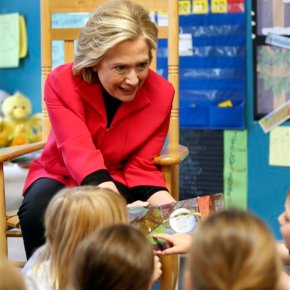 Clinton seeks 'high quality preschool' for all 4-year-olds