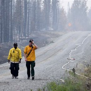 Alaska gets help from lower 48 states in fightingwildfires