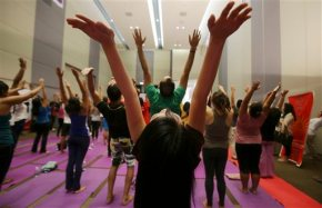 Millions of people bend and twist their bodies for YogaDay