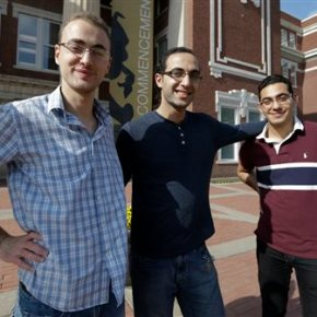 Hundreds of young Syrians find academic home at UScolleges