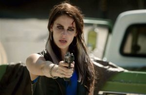 """In this screengrab released by Lifetime, Jessica Lowndes appears in a scene from """"A Deadly Adoption,"""" premiering Saturday, June 20 at 8 p.m. ET on Lifetime. (Lifetime via AP)"""