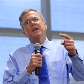 Jeb Bush joining a race featuring nearly a dozen competitors