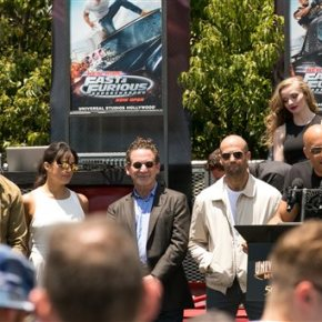 Vin Diesel test dives new 'Fast & Furious' ride
