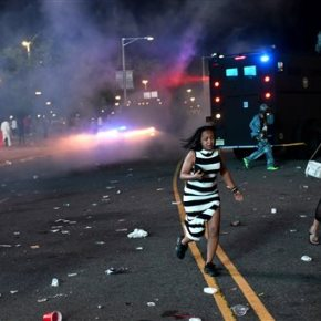 Report: Police shoot tear gas to disperse concertcrowd