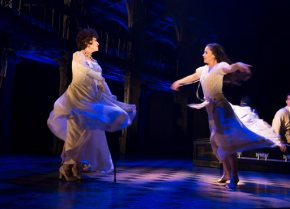 Michelle Veintimilla on Broadway playing young Chita Rivera