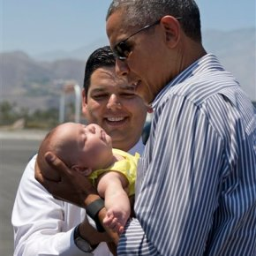 Obama spending Father's Day weekend at golfdestination