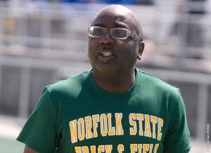 NSU Track and Field Coach Kenneth Giles