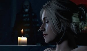"""This image released by Sony Computer Entertainment America LLC shows  an image of Hayden Panettiere, who voices the character of Samantha, in a scene from the video game, """"Until Dawn."""" (Sony Computer Entertainment America LLC via AP)"""