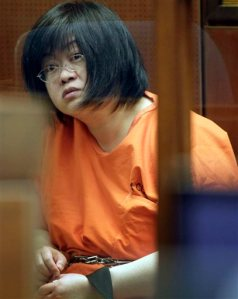 FILE - In this March 16, 2012 file photo Dr. Lisa Tseng listens in court during her arraignment in Los Angeles. Attorneys are set to deliver opening statements Monday, Aug. 31, in the trial of Tseng, charged with murder the deaths of three young men who overdosed on prescription pain killers. Tseng has pleaded not guilty to three counts of second-degree murder. She could face up to life in prison if convicted on all the charges against her. (AP Photo/Nick Ut, File)