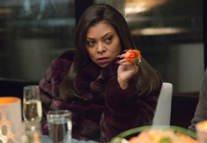 "In this image released by Fox, Taraji P. Henson appears in a scene from ""Empire."" The show is included in the television series that a Directors Guild of America report released Tuesday, Aug. 25, 2015, said made the ""Best"" list, with at least 40 percent of episodes directed by women or minorities. (Chuck Hodes/FOX via AP)"