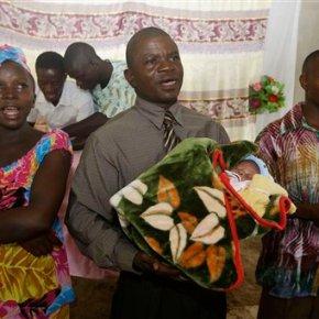 Ebola survivor who lost 21 relatives gives birth to babyboy