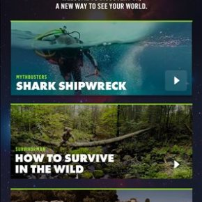 Sharks, skateboards, survival debut on Discovery VR network