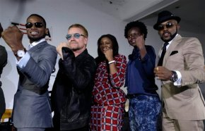 African superstars, Bono in campaign to empower women