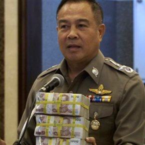 Thai police seek 2 new suspects in Bangkok bombing probe
