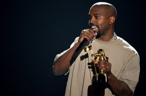 Kanye rants at VMAs, Miley Cyrus flashes breast