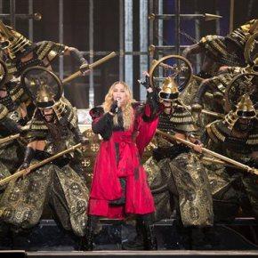 Madonna kicks off 'Rebel Heart' tour inMontreal